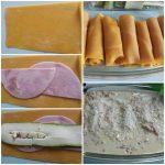 Schinken-Zucchini-Röllchen
