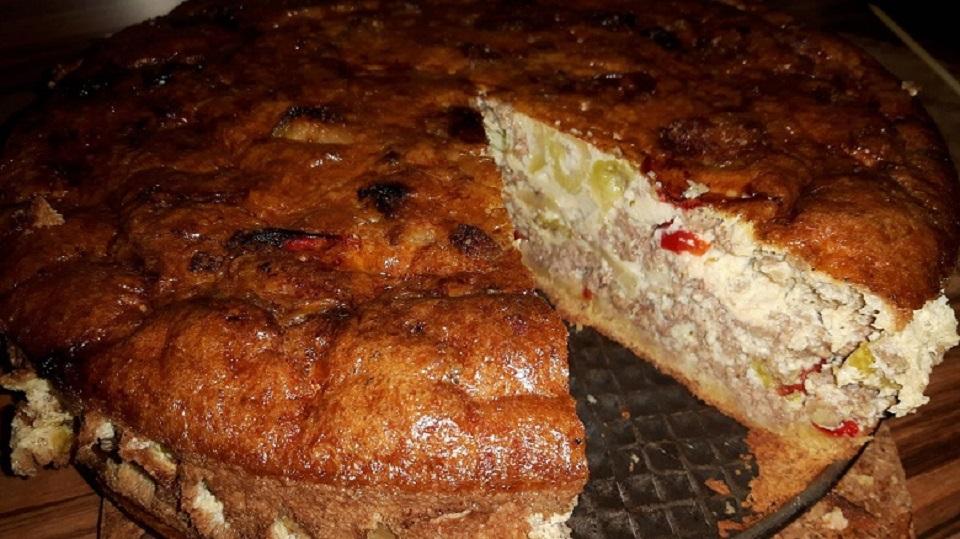 Rosenkohl-Hack-Kuchen
