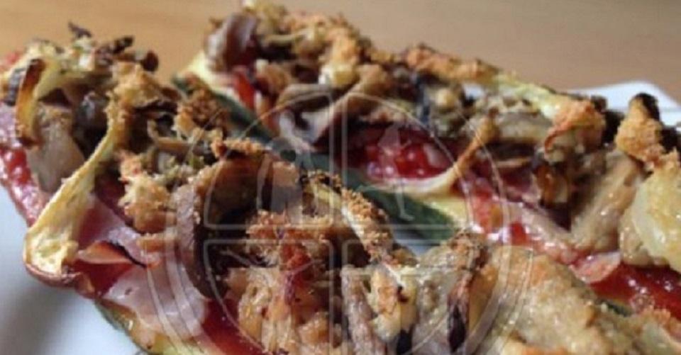 Zucchini-Thunfisch-Baquette